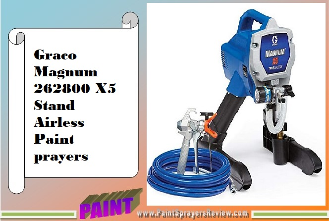Graco Magnum 262800 X5 Stand Airless Paint prayers portability