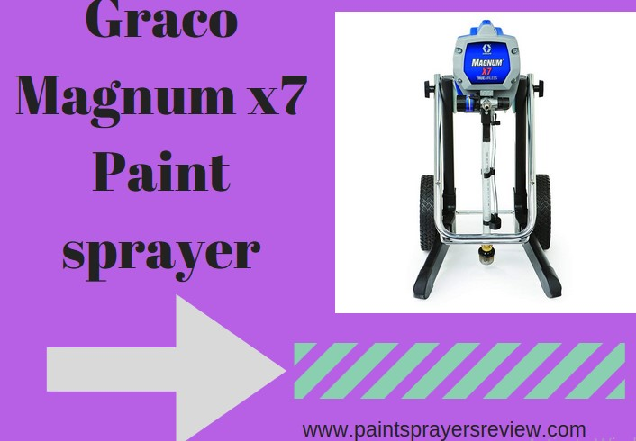 graco magnum x7 Paint sprayer