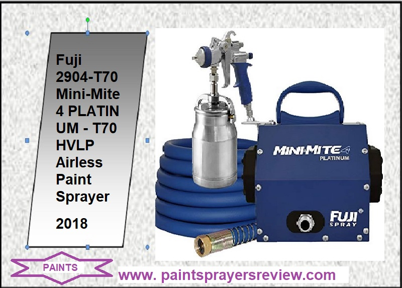 Fuji 2904-T70 MPLATINUMT70 Paint Sprayer