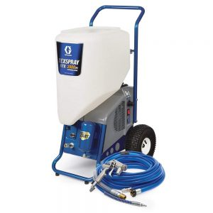 The Graco RTX 2000pi paint sprayer